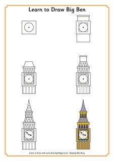 Drawn big ben vector Ideas Pinterest to 25+ heaps