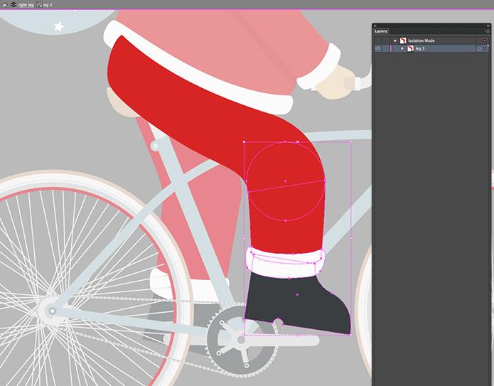 Drawn bike animated #7