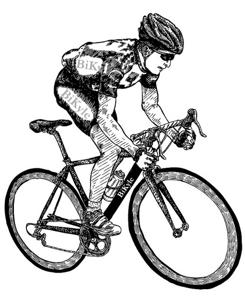 Drawn bike bike riding Bike Community Rides ~ Rides