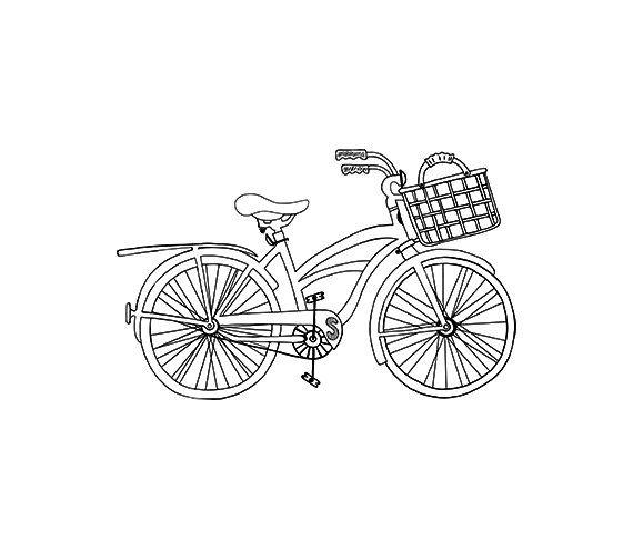 Bike clipart drawn Images Digital Hand 50 Pinterest