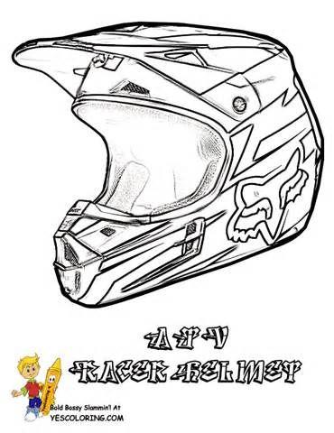 Drawn bike coloring page #11