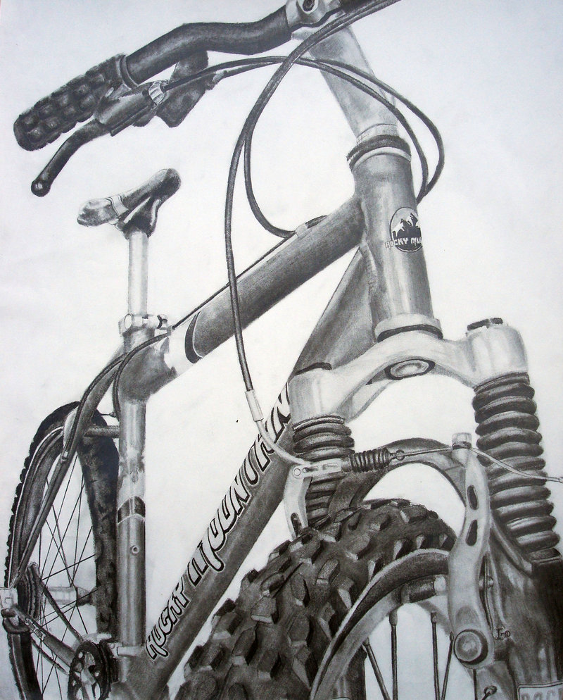 Drawn bike creative #6