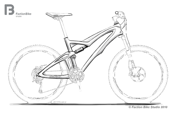 Drawn bike creative #14
