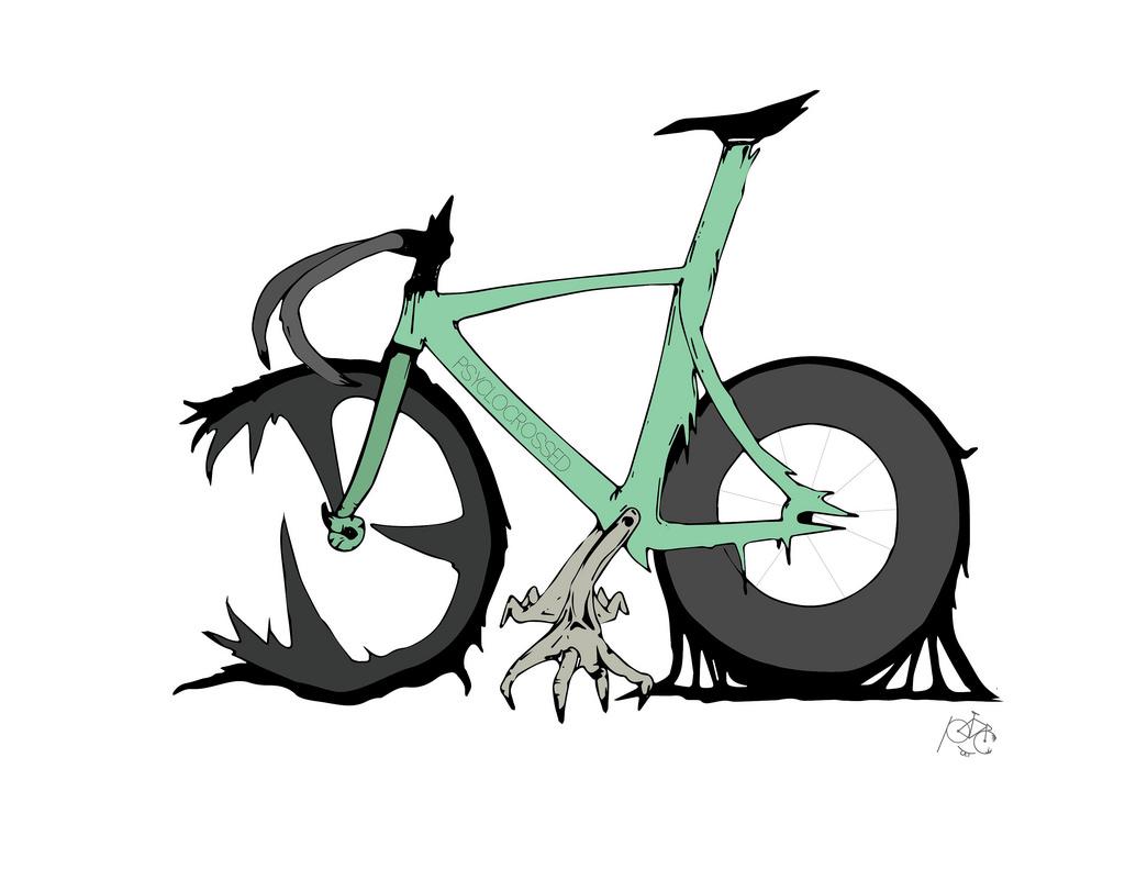 Drawn bike fixie #7