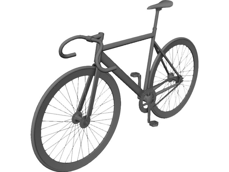 Drawn bike fixie #12