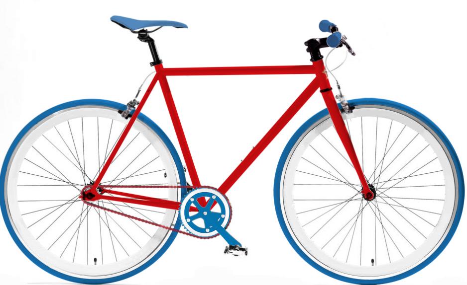 Drawn bike fixie #5