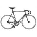 Drawn bike fixie #3