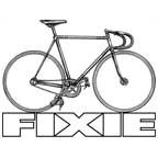 Drawn bike fixie #6