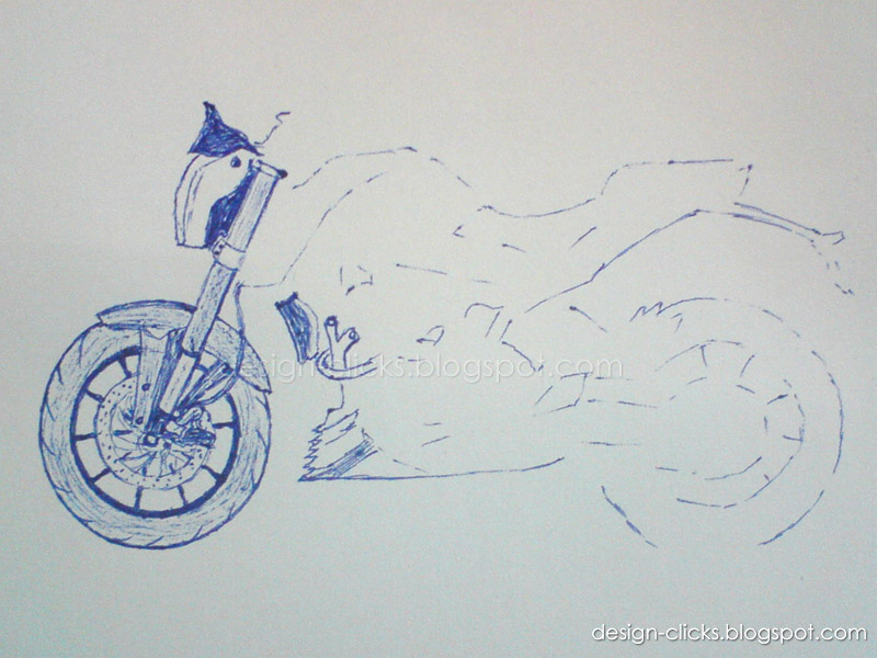 Drawn bike ktm #5