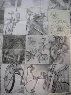 Drawn bike man made #11
