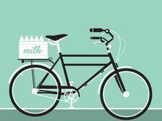 Drawn bike minimalist Cartoons how to cartoon Simple