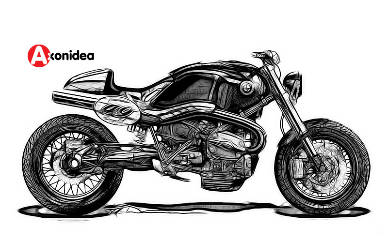 Drawn bike motor #7