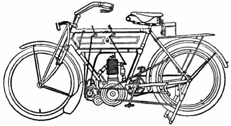 Drawn bike motor #3