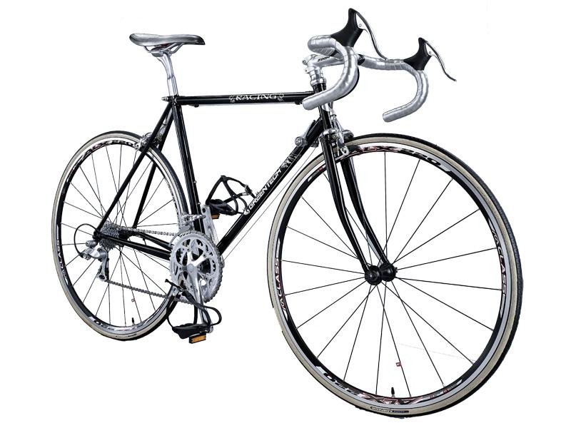 Drawn bike race bike #12