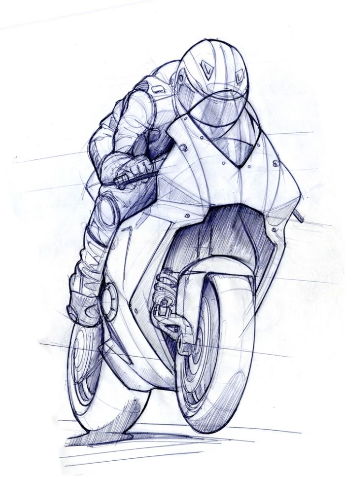 Drawn bike sketch Best and on Pin Pinterest