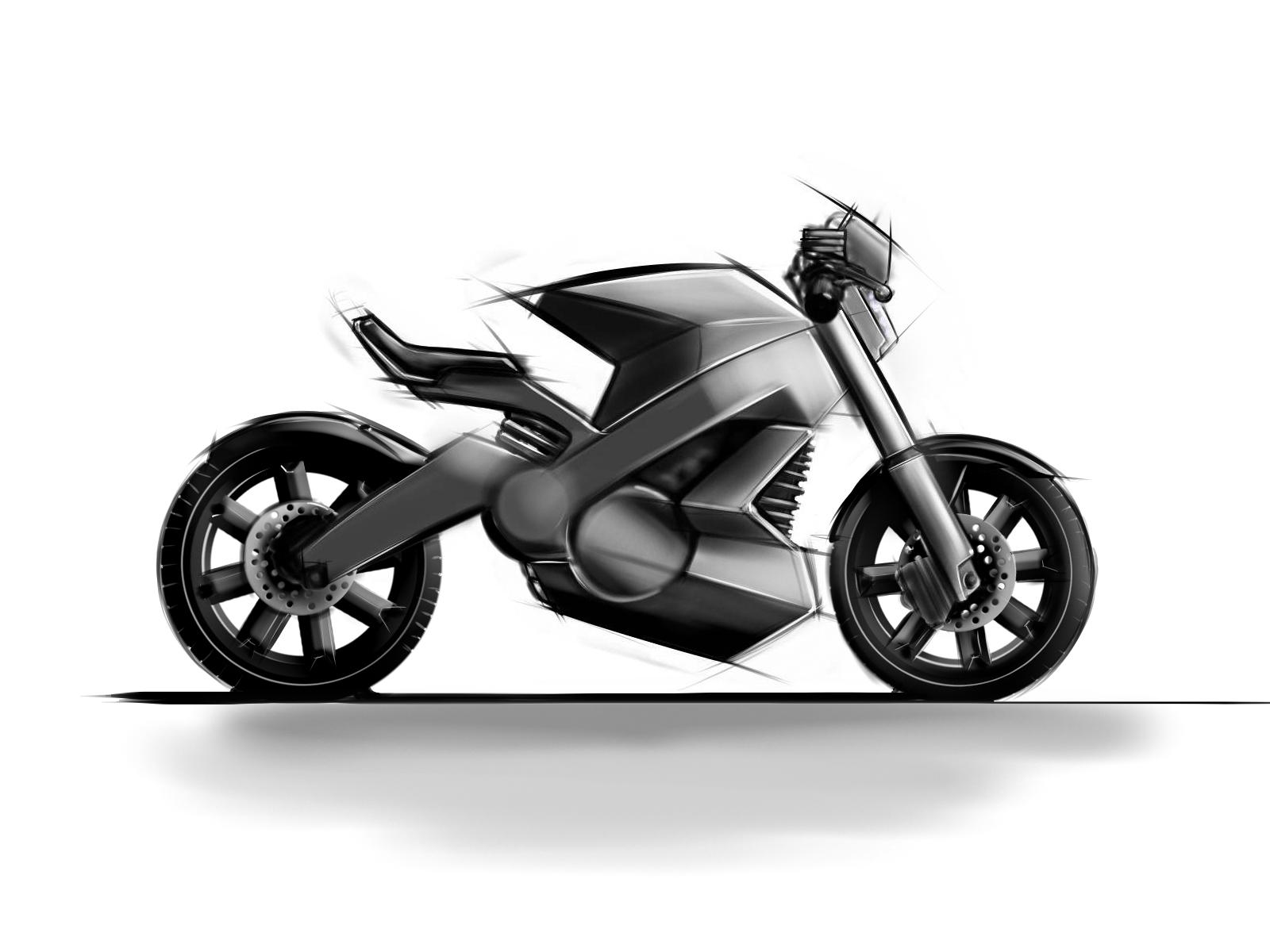 Drawn bike sport bike Bike sketch EV Search bike