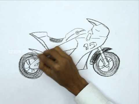 Drawn race car vehicle To YouTube Bike a Race