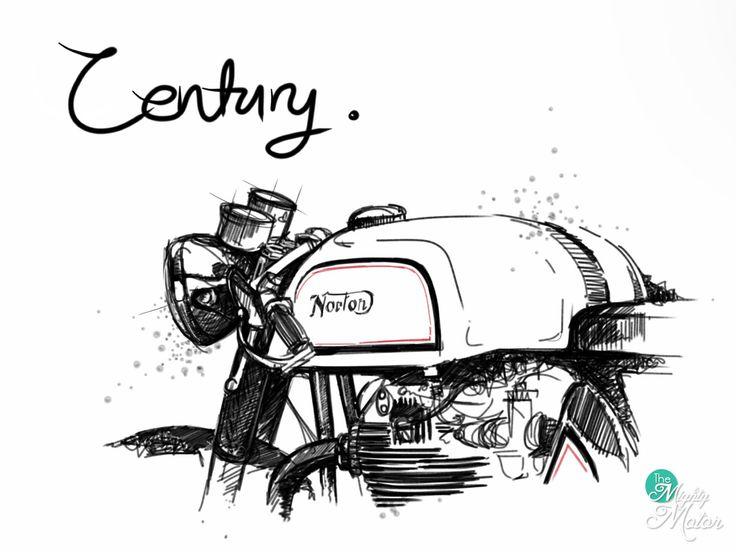 Drawn biker machine #3
