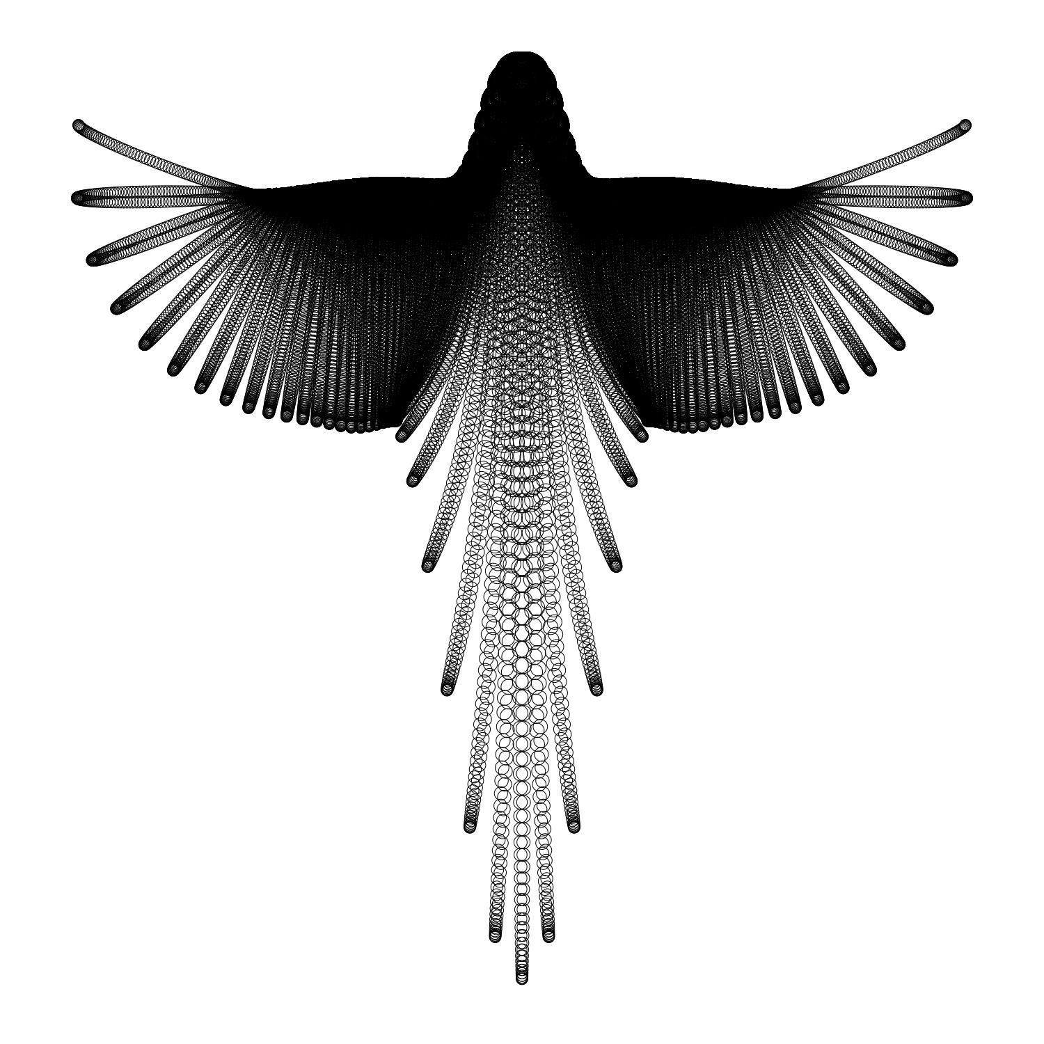 Drawn parrot bird fly HuffPost Drawing Flight in With