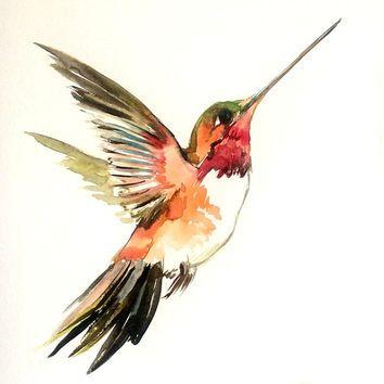 Drawn hummingbird phoenix 12 ideas painting in Top