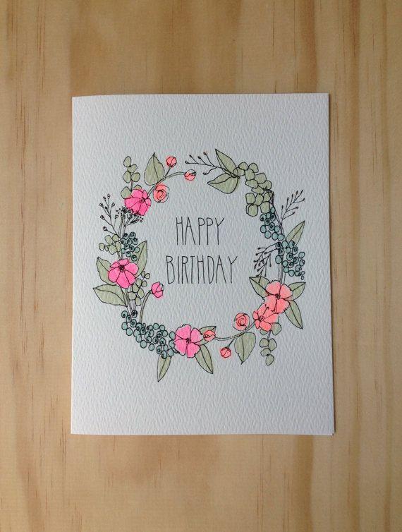 Drawn cards happy birthday Birthday birthday Happy 25+ Best