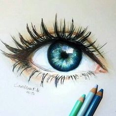 Drawn blue eyes Eyes Pinterest Lovely Beautiful @madhatter