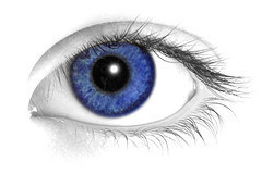 Drawn blue eyes DeviantArt bighood24 blue on eye