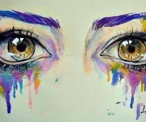 Drawn tears pain Heart art about It eyes