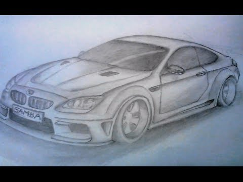 Drawn vehicle doodle (BMW) TO (BMW) CAR HOW