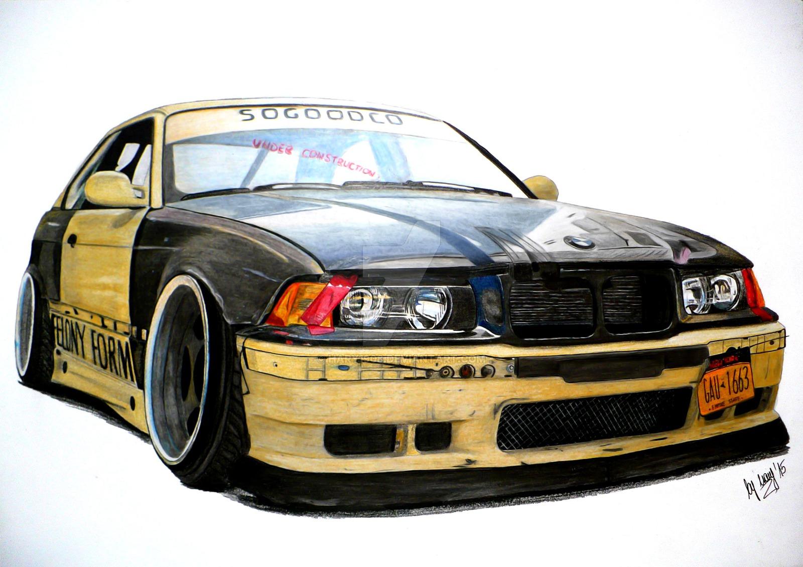 Drawn bmw art On 89 BMW favourites by