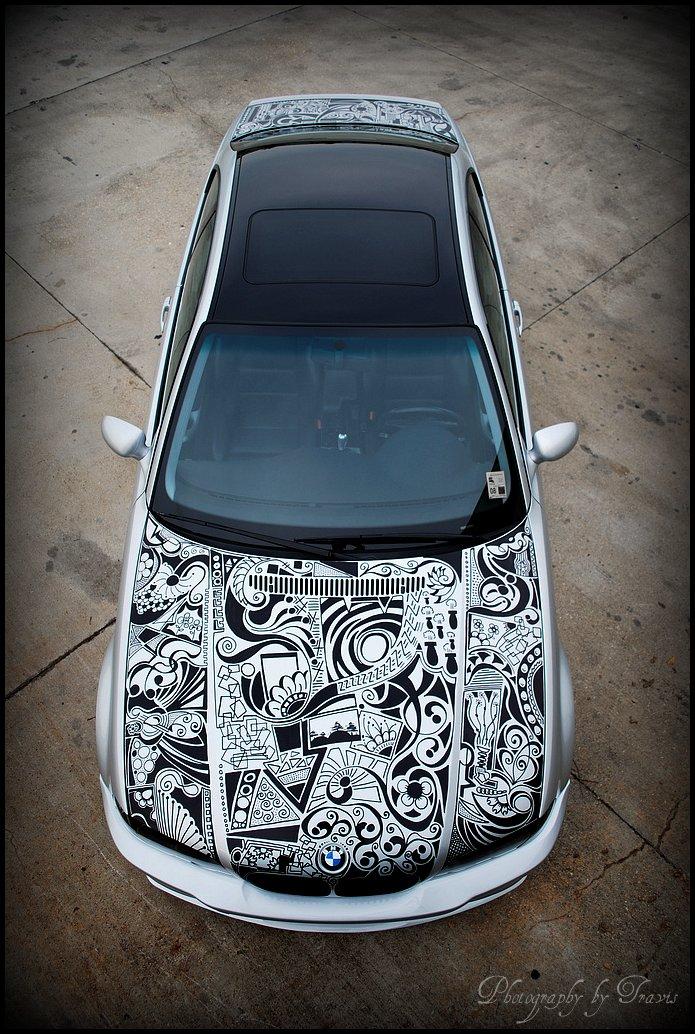 Drawn bmw art I totally Crafty my car