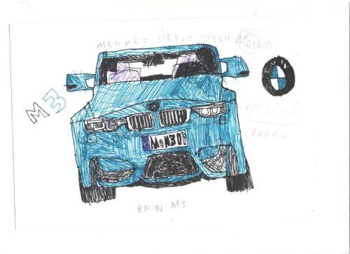 Drawn bmw bmw front Junior m3 BMW Car Designer