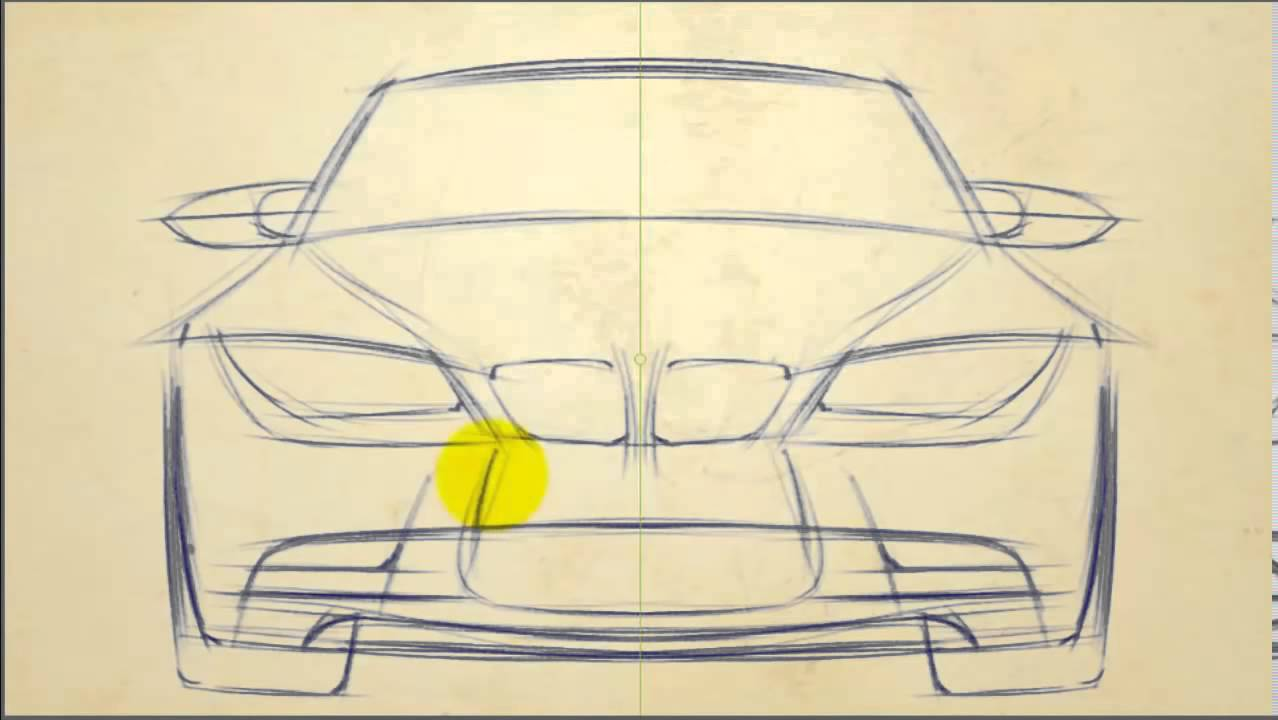 Drawn bmw bmw front View to How 720p Front