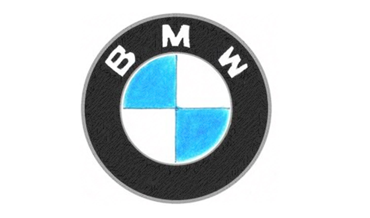Drawn bmw bmw logo  BMW the to emblem)