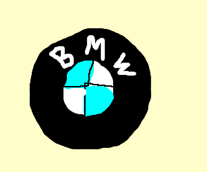 Drawn bmw bmw logo The logo BMW logo ShakespeareShaped)