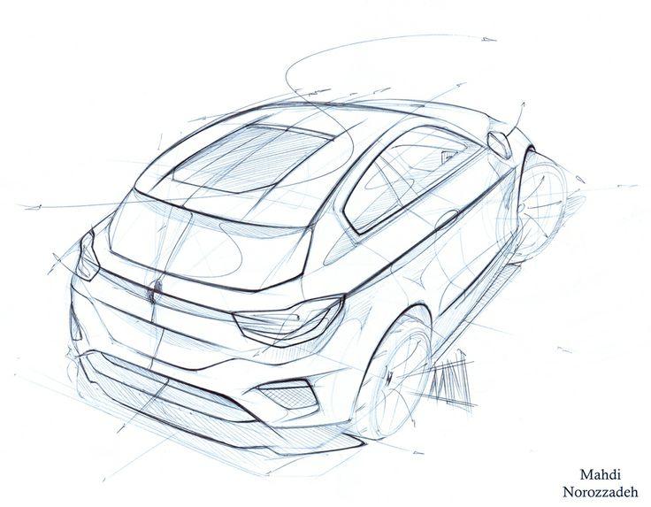 Drawn bmw car design BMW 1049 sketches Pinterest and