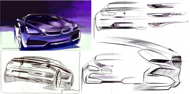 Drawn bmw car design BMW More Design Sketches Gran