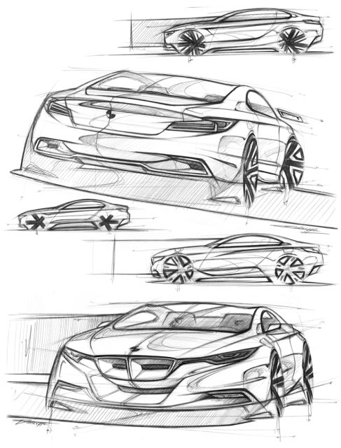 Drawn bmw car design Cyril Bmw VehicleTransportation DesignSketchesSketch on