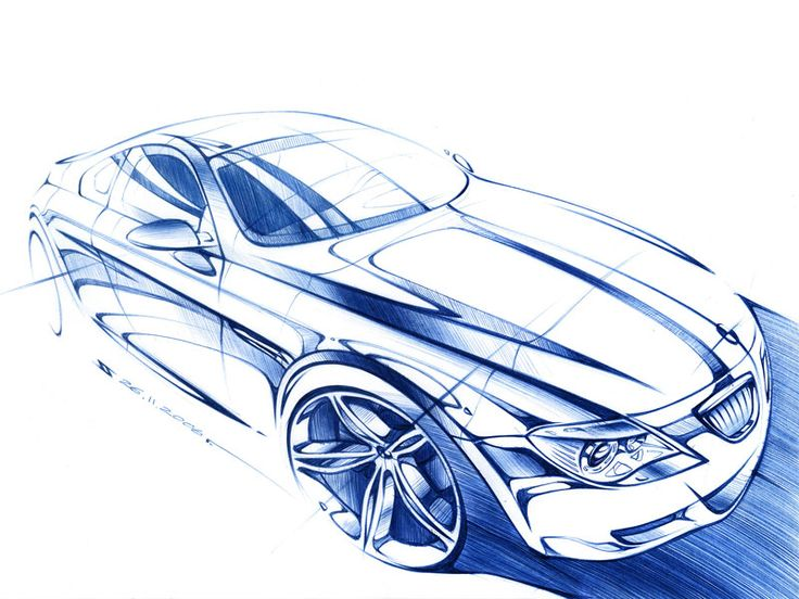 Drawn bmw car design Find and on 24 Vehicle