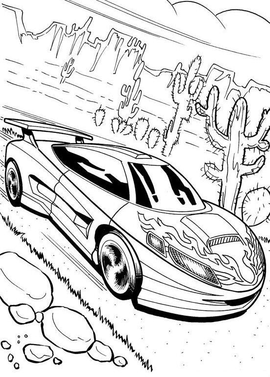 Drawn race car coloring page Images is beautiful Pages: Pinterest
