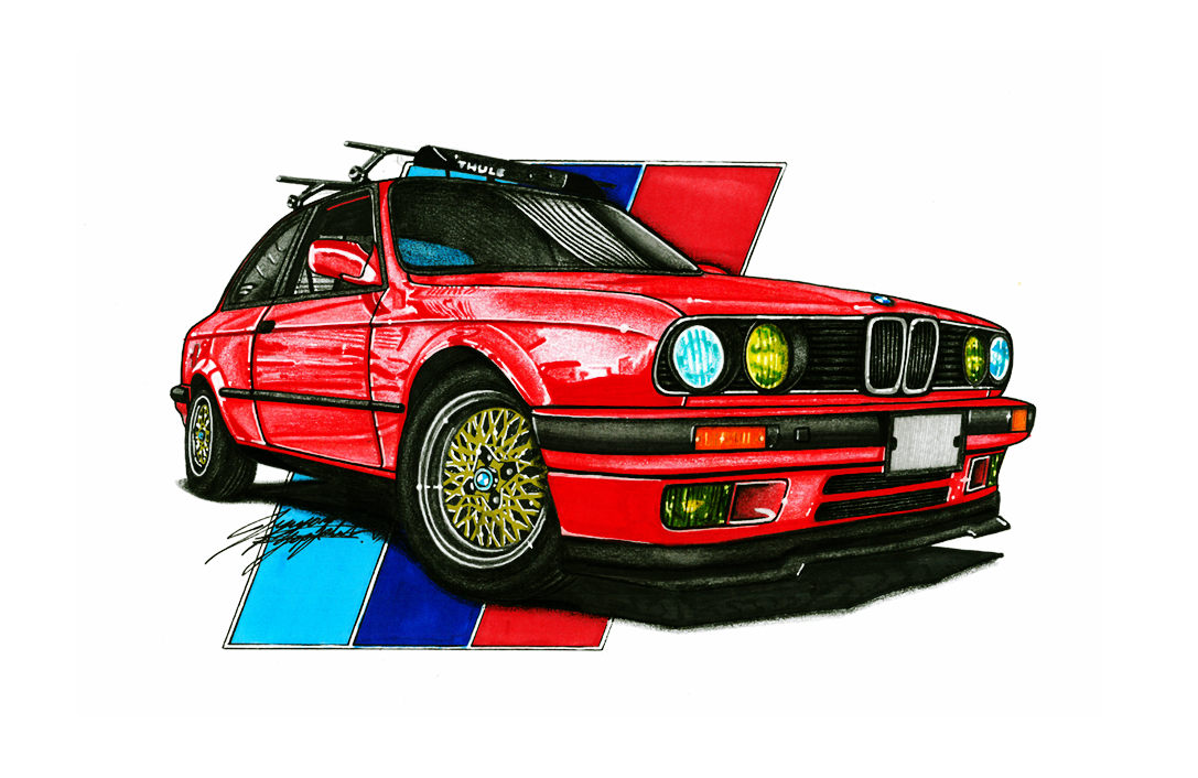 Drawn bmw e30 Price of info: In please