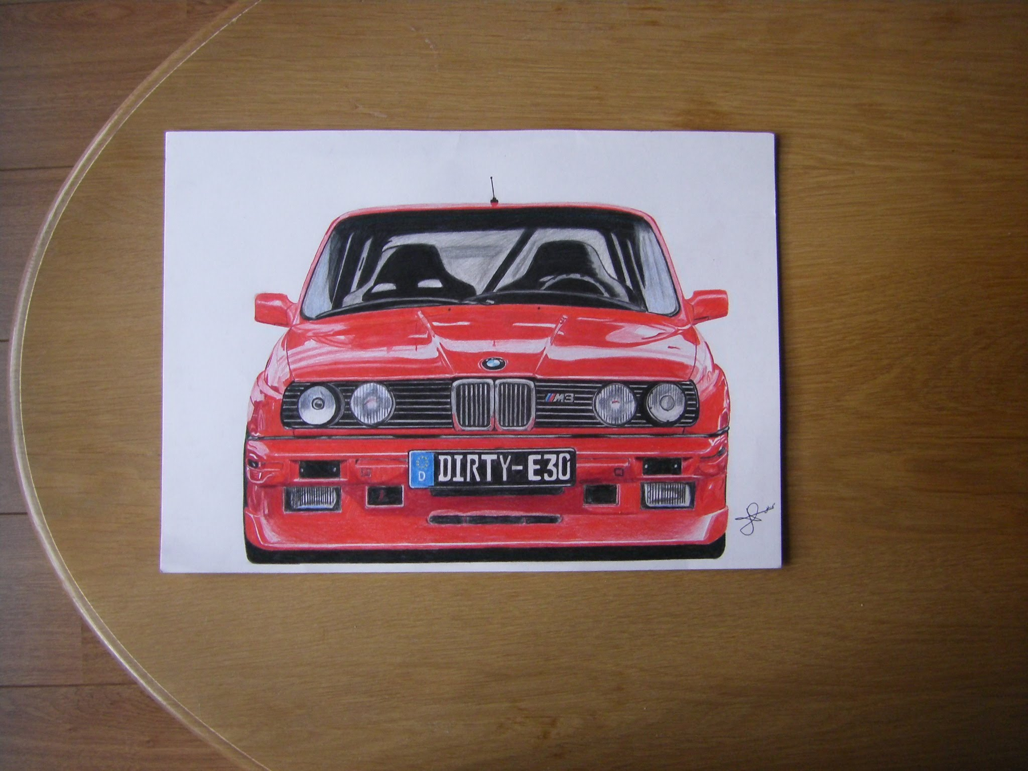 Drawn bmw e30 E30 YouTube Drawing JH M3