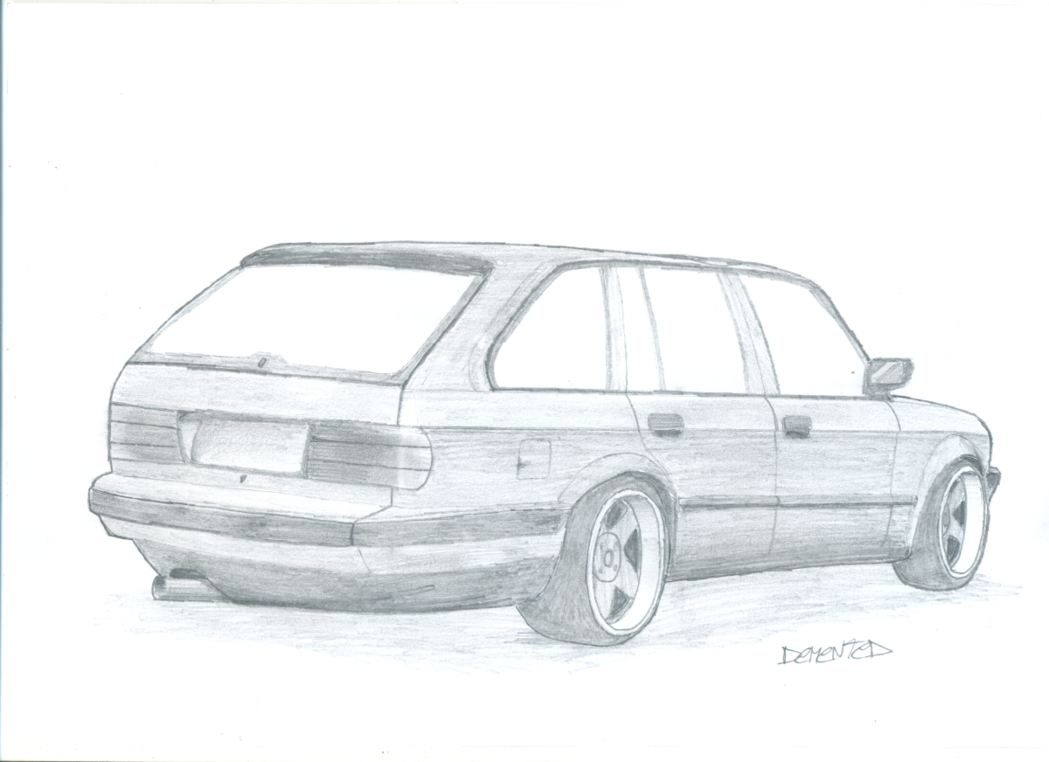 Drawn bmw e30 By on Touring Danchix e30