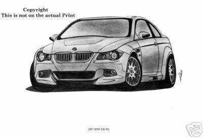 Drawn bmw e92 Attached E90 BMW M3 Images