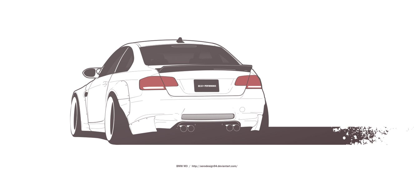 Drawn bmw e92 By DeviantArt AeroDesign94 M3 by