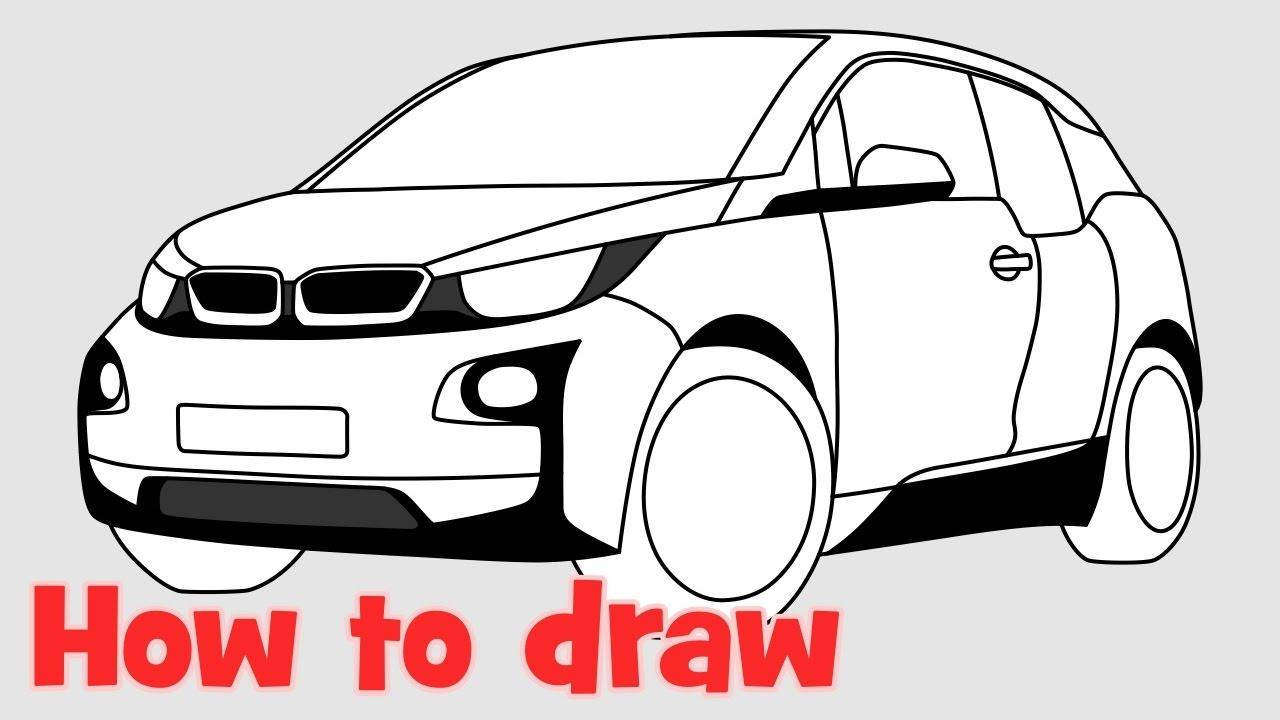 Drawn bmw lowrider car Car ✍ a to