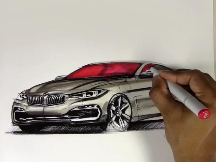 Drawn bmw lowrider car A Drawing To Drawing Car