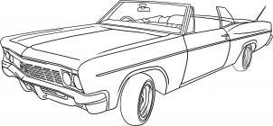 Drawn bmw lowrider car Step Dessins lowrider car a