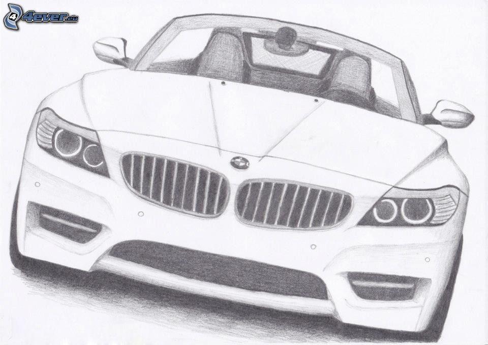 Drawn bmw tuning Car BMW car Cartoon cartoon