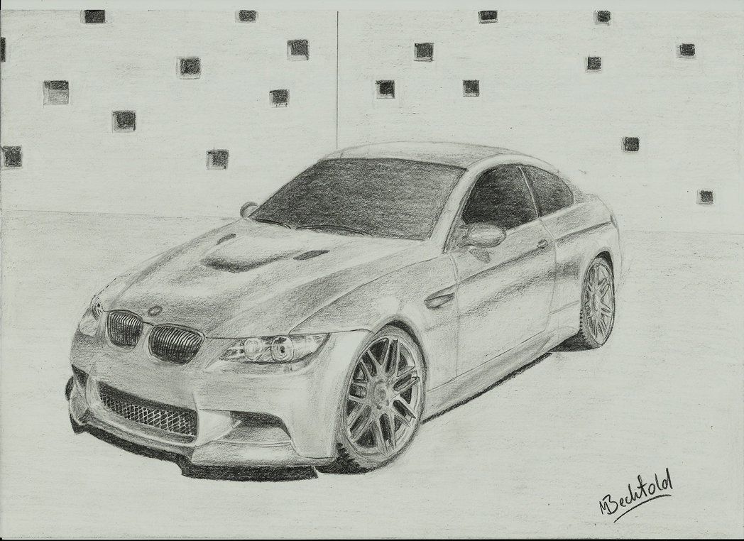 Drawn bmw tuning Car Pictures Realistic Car Drawings